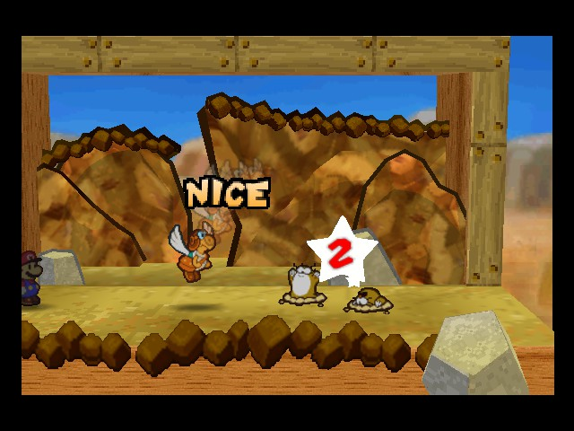 Paper Mario - Battle  - Praise the Lord! - User Screenshot